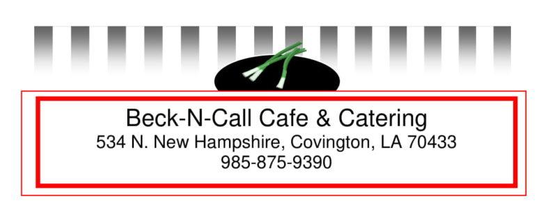Beck-N-Call Café
