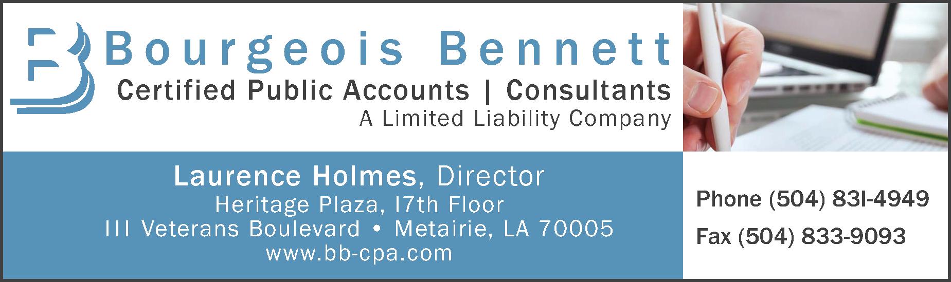 Bourgeois Bennett (1-16h)