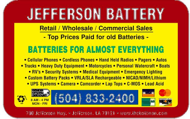 Jefferson Battery