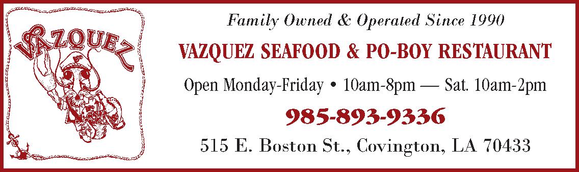 Vazquez Seafood & Po-Boy Restaurant
